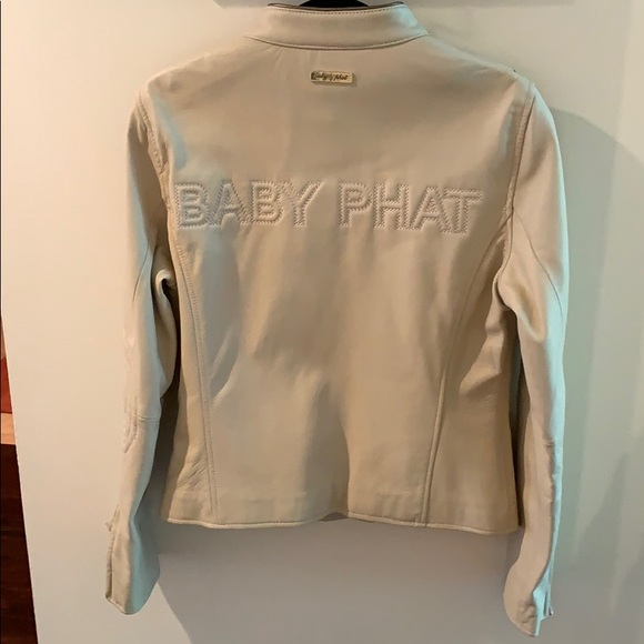 Baby Phat Jackets & Blazers - Vintage Baby Phat Leather Jacket Never Been Worn!